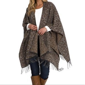 ⬇️Woolrich Brushed Blanket Wrap